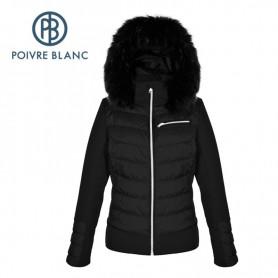 Veste de ski POIVRE BLANC WO/A Ski Stretch Jacket Noire Femme