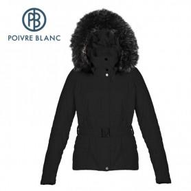 Veste POIVRE BLANC WO/A ski Jacket Noire Femme