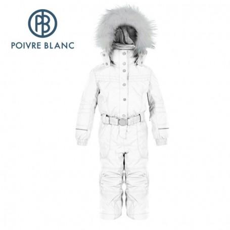 le plus populaire le magasin élégant et gracieux Combinaison de ski Poivre Blanc fille pas cher