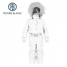 Combinaison de ski POIVRE BLANC BBGL/A Overall White BB Fille