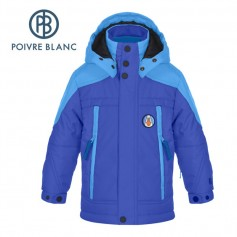 Veste de ski POIVRE BLANC W16-0900 BBBY Bleu BB Garçon