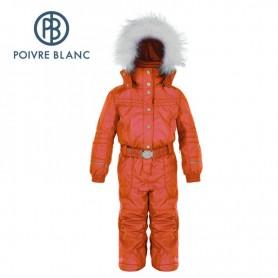 Combinaison de ski POIVRE BLANC BBGL/A Overall Rouge BB Fille