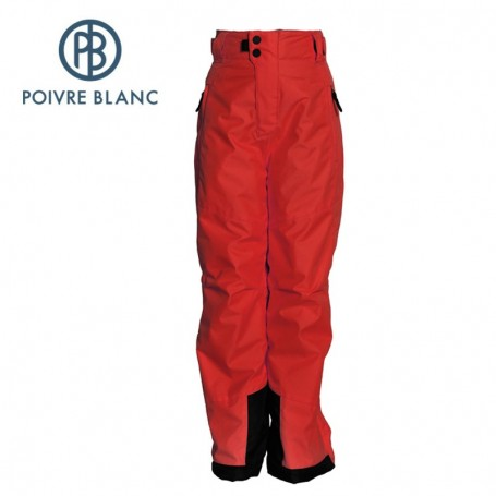 Pantalon de ski POIVRE BLANC JRBY Ski Pant Rouge garçon
