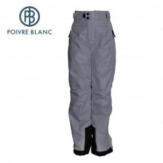 Pantalon de ski POIVRE BLANC W16-0920 JRBY Gris Garçon