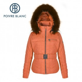 Blouson de ski POIVRE BLANC JRGL Ski Jacket Orange Fille