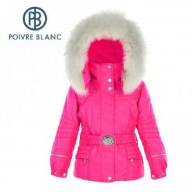 Veste de ski POIVRE BLANC BBGL/A Ski Jacket Rose BB Fille