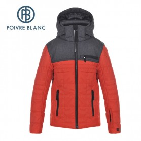Veste de ski POIVRE BLANC JRBY Ski Jacket Rouge Garçon
