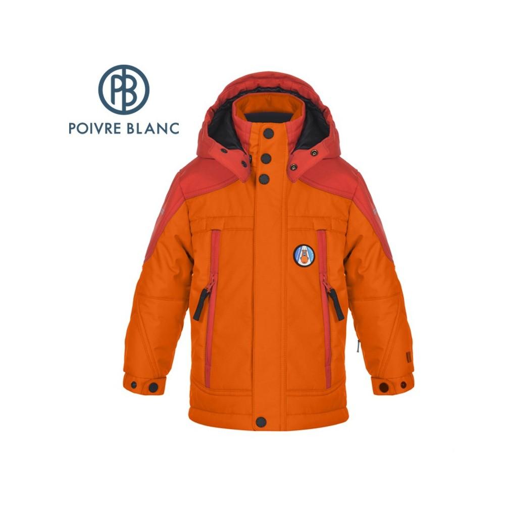 Veste de ski POIVRE BLANC BBBY Ski Jacket orange BB Garçon