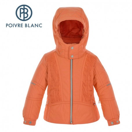 Veste de ski POIVRE BLANC BBGL Ski Jacket Orange BB Fille