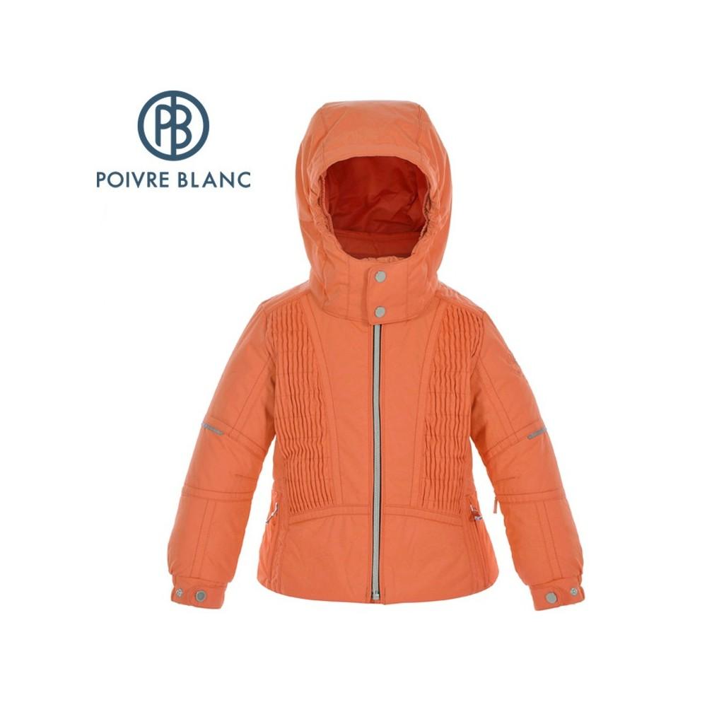 Veste de ski POIVRE BLANC BBGL Ski Jacket Orange BB Fille