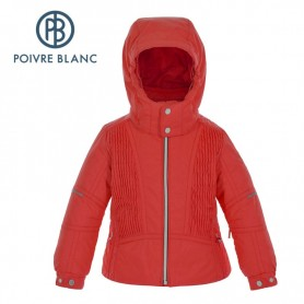 Veste de ski POIVRE BLANC BBGL Ski Jacket Rouge BB Fille