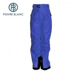 Pantalon de ski POIVRE BLANC W16-0920 JRBY Bleu Cobalt Garçon