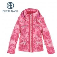 Veste de ski POIVRE BLANC W16-1004 BBGL Rose BB Fille