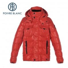 Veste POIVRE BLANC W16-1215 JRBY/A Rouge Garçon