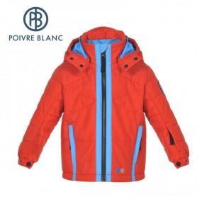 Veste de ski POIVRE BLANC Ski Jacket Rouge Garçon