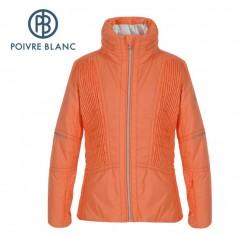 Veste de ski POIVRE BLANC W16-1002 JRGL Orange Fille