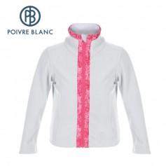 Veste Polaire POIVRE BLANC BBGL Fleece Jacket Blanche BB Fille
