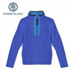 Polaire POIVRE BLANC W16-1550 BBBY Bleu BB Garçon
