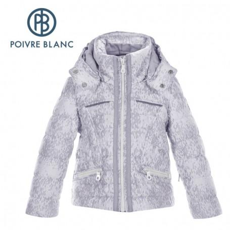 Veste de ski POIVRE BLANC BBGL Ski Jacket Nuage gris BB Fille