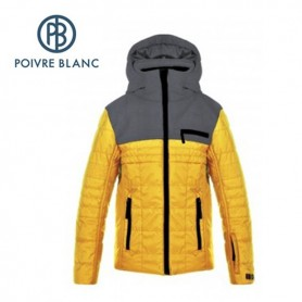 Blouson de ski POIVRE BLANC JRBY Ski Jacket Jaune Garçon