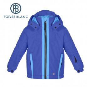 Veste de ski POIVRE BLANC Ski Jacket Bleu Garçon