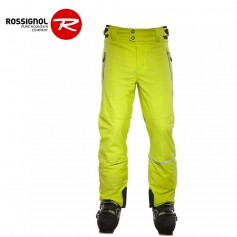 Pantalon de ski ROSSIGNOL ARENA STR Jaune Hommes
