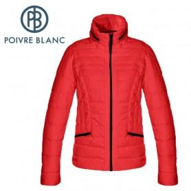Blouson de ski POIVRE BLANC WO Ski Jacket Rouge Femme