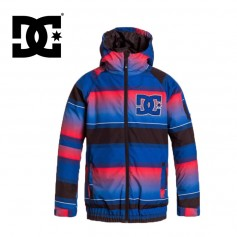 Blouson de ski DC SHOES Troop Bleu Garcon