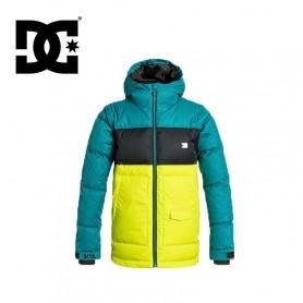 Doudoune de ski DC Shoes Downhill verte garçon