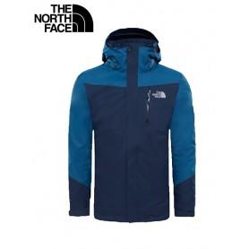 Veste de ski North Face Solaris Triclimate bleu Hommes