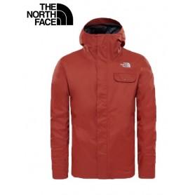 Blouson North Face Tanken Triclimate brun homme