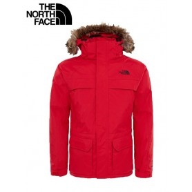 Parka North Face McMurdo rouge garcon