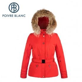 Veste de ski POIVRE BLANC WO/A Ski Jacket Rouge Femme