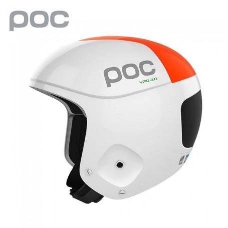 Casque de ski POC Skull Orbic Comp Blanc Unisexe