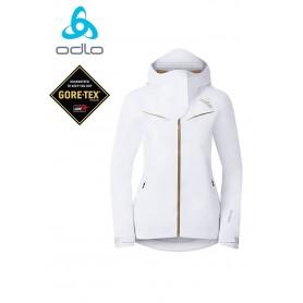 Veste de ski randonnée Odlo Spirit blanc Femmes