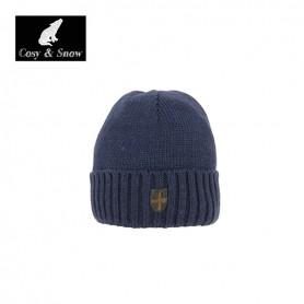 Bonnet de ski COSY & SNOW Picho bleu marine