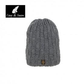 Bonnet de ski Cosy&Snow Yann GrisUnisexe