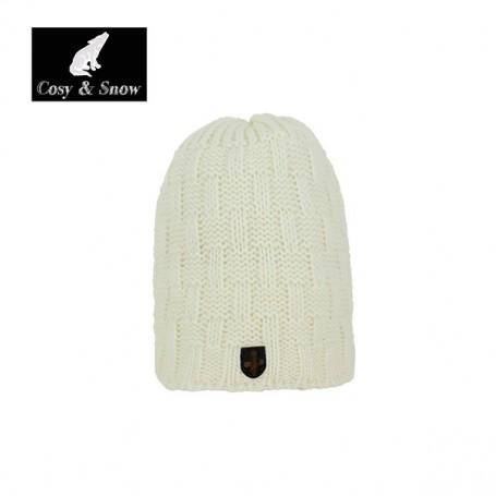 Bonnet de ski Cosy&Snow Yann Blanc écru Unisexe
