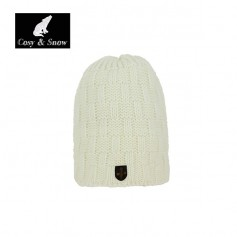 Bonnet de ski COSY & SNOW Yann Ecru Unisexe