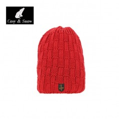 Bonnet de ski Cosy&Snow Yann rouge Unisexe