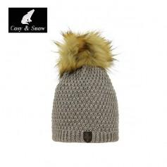 Bonnet de ski Pompon Cosy&Snow Nina Naturel Femme