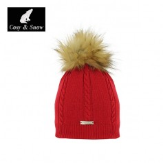 Bonnet fin COSY & SNOW Coyote Rouge Femme