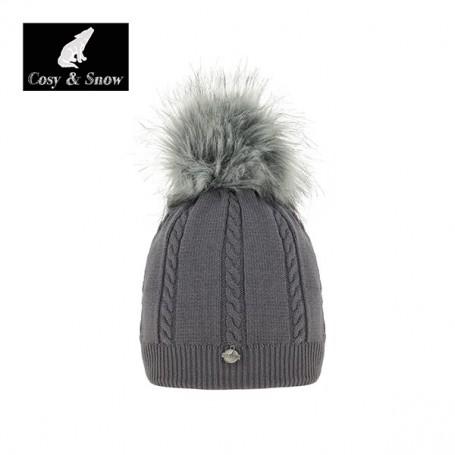 Bonnet COSY & SNOW Gris Femme