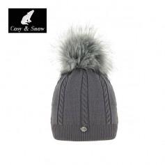 Bonnet COSY & SNOW Coyote Gris Femme