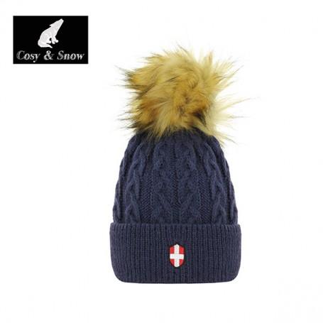 Bonnet de ski COSY & SNOW Steph marine