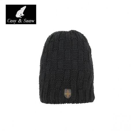 Bonnet de ski Cosy&Snow Yann Noir Unisexe