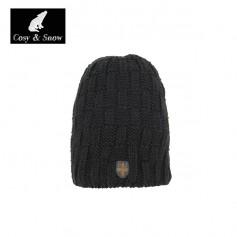 Bonnet de ski COSY & SNOW Yann Noir Unisexe