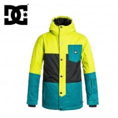 Manteau de ski DC SHOES Defy Jkt Jaune / Vert Garço