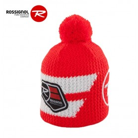 Bonnet Rossignol world cup pompon rouge