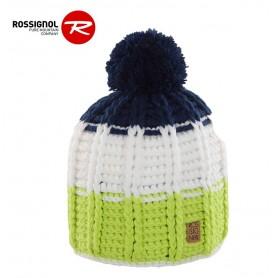 Bonnet Rossignol Timy vert et bleu